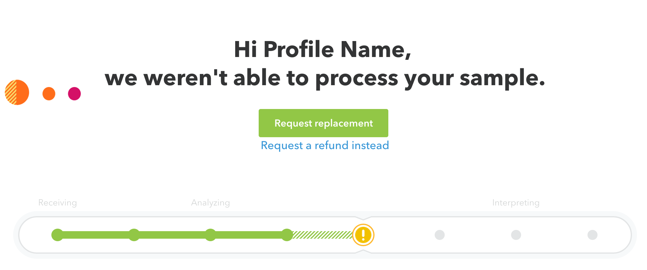 Why do some samples fail analysis 23andMe Customer Care – Sample Analysis